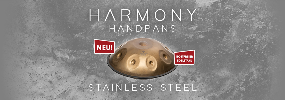 Harmony Handpans Stainless Steel