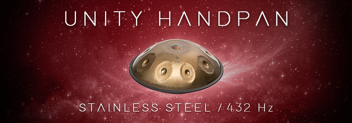Unity Handpan - Stainless Steel in 432 Hz