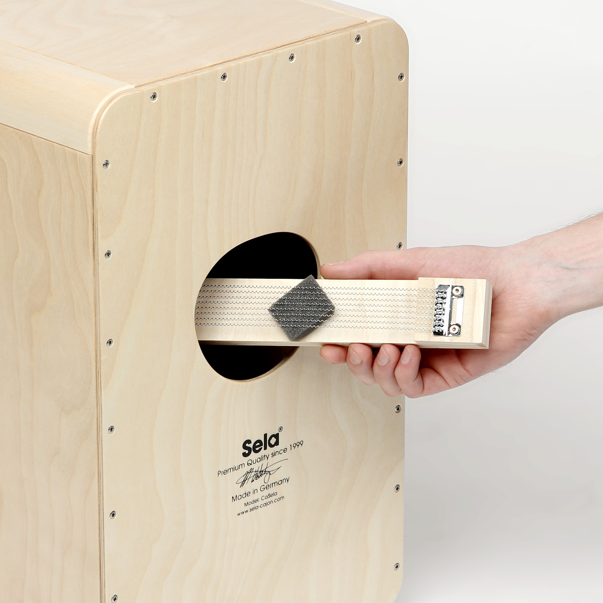 Removable Cajon Snare System