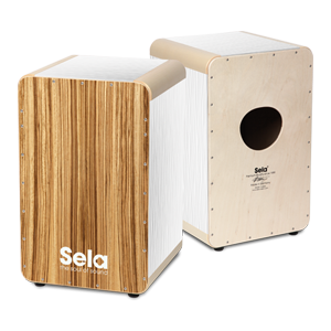 Sela Wave White Zebrano