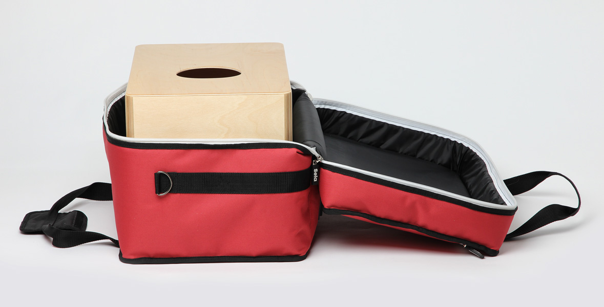 Sela Cajon Bag Red Product Photos 5