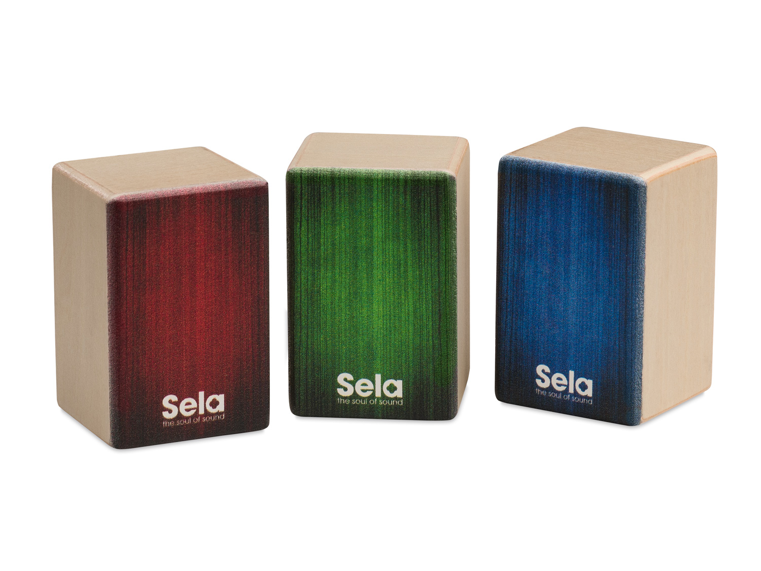 Sela Mini Cajon Shaker Set Product Photos 1
