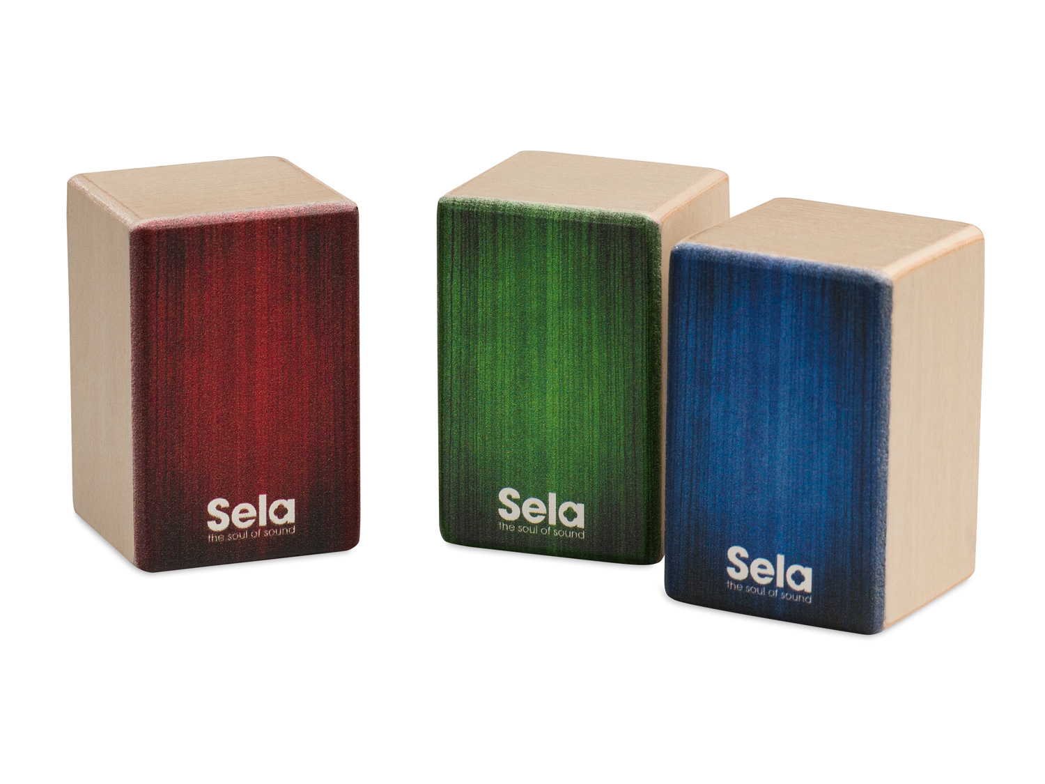 Sela Mini Cajon Shaker Set Product Photos 2
