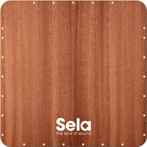 Sela Bass Cajon Playing Surface Front